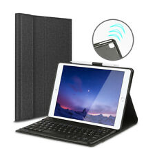 QWERTZ Tastatur für iPad 7th Gen 10.2 2019/Air 3 10.5 Tastatur Schutz Hülle Case
