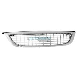 New Grille Chrome Fits 2000-2003 Ford Windstar Except Limited Model FO1200392