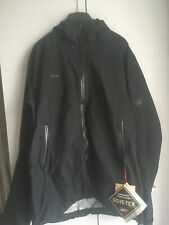 Mammut Convey Tour HS GoreTex Mens Jacket Black Medium BNWT RRP £180