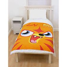 Moshi Monsters Panel Monsters Fleece Blanket Throw Boys Girls New Gift