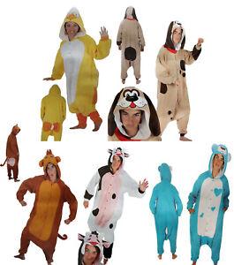 Plüsch-overall Costume Monkey Cow Teddy Bear Chicken Dog Costume Carnival