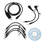 6 in 1 USB Programming Cable for Motorola HYT ICOM BAOFENG KENWOOD YAESU Radio