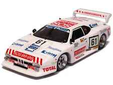 S1585 Spark 1/43:BMW M-1 #61 Le Mans 1982 3rd in GR5 Ennequin-Gabriel-Gasparetti