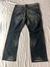 Blue Blood Men's Cross Denim Button Fly Jeans Waist 38 Inseam 34 $250