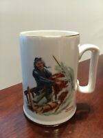 Norman Rockwell Museum Collection 1985 Braving The Storm Mug Excellent Cond