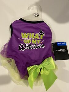 Simply Dog What up my witches Halloween Costume XS
