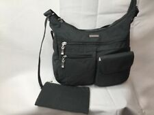 BAGGALLINI Everywhere Bag Charcoal Crossbody Travel Purse Bag Adjustable Strap