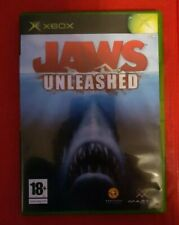 Jaws Unleashed PAL Original Xbox Game NOT BOOTING - READ THE DESCRIPTION