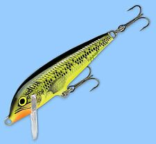 Rapala FIRE MINNOW CountDown Slow-Sinking Fishing Lure