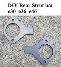 Bmw e30 e36 e46 rear strut reinforcement plates DIY Rear strut bar