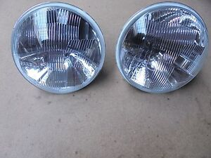 FERRARI 330 / 365 PAIR OF CARELLO HEADLIGHT 03.490.700 NEW