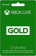 🎮Xbox LIVE 12 Month Gold Code (GLOBAL)🚀🚚