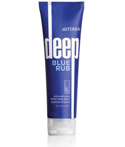 NeW doTERRA Deep Blue Rub 4 oz EXP 12/23 sore muscles Tiger Balm pain relief