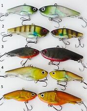 5 x 45mm 12g Soft Vibe custom UV colours mask lure set Bream Bass FREE SHIPPING