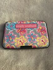 Simply Southern Plastic Security Wallet ID Case for Credit Cards