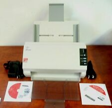 Fujitsu Scanner Fi-5120C   Adapter, CD & USB Wins XP, 7 & 8 Grade A !  !!  !!!
