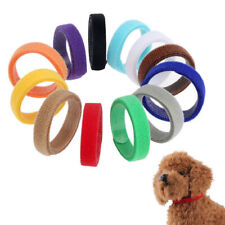 12 Colors Whelp ID Collars Newborn Puppy Kitten Whelping Collars Breeders 35cm
