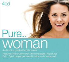 Various - Pure...Woman - 4xCD Digipak (2014) - Brand NEW and SEALED