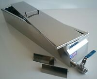 """Parkerizing Tank with Lid, Stainless Steel, 304, blueing, gunsmithing, 40""""x6""""x6"""""""