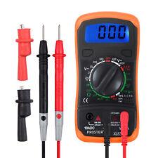 Proster Xl830l Digital Multimeter Ac Dc Voltmeter Ammeter Ohmmeter Volt Tester