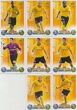 Match Attax 2008/09 08/09 Borussia Dortmund  8 Spielerkarten