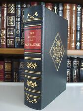 ESSAYS OF MONTAIGNE Gryphon Legal Classics Full Leather