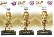 2009 Select NRL Gold Figurine CARDS team Set Manly (3)