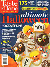 NEW Taste of Home ULTIMATE HALLOWEEN 162 Recipes Complete Party Guide cPICS Indx