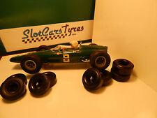 4 front , 4 rear URETHANE Tyres COX 1/24-  Aus