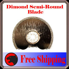 Diamond Round Cut Oscillating Multi Tool Blade For Fein Multimaster Dremel Ryobi