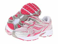 Saucony Non-Tie Sneakers Pink/Silver  Little Girls Size 10 1/2 Wide