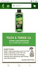 Tough & Tender all purpose Cleaner Melaleuca 12x Concentrated+Spray bottle