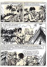 TAROU CONTRE LES SOLDATS JAPONAIS (BOB DAN) PLANCHE ORIGINALE AREDIT  PAGE 23