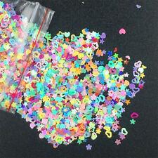 5000pcs Nail Art DIY Glitter Heart Flower Star Sequins Supply Stickers Y1S2