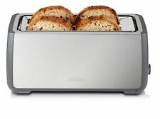 Sunbeam Long Slot 4 Slice Toaster - Stainless Steel