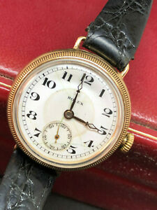 ROLEX - 4086  20's  100 YEARS OLD !! MOVEMENT & CASE WITH ROLEX MARKS VERY RARE!