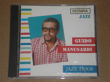 GUIDO MANUSARDI - JAZZ TRIOS - CD COME NUOVO (MINT)