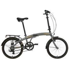 Raleigh Evo-2 Mens Womens Folding Bike Bicycle V Brake Alloy Frame 7 Gears