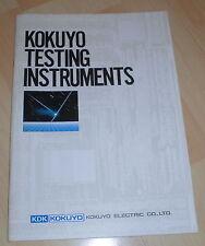 Desván Kokuyo test dispositivos catálogo Electric English tecnología 80er cuaderno Alt