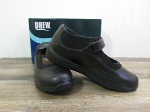Drew Rose 14375-99 Orthopedic Therapeutic Comfort Shoes Women's 9.5 W Black