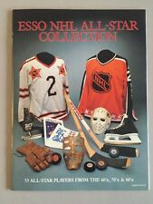 1988-89 ESSO NHL ALL STAR STICKER ALBUM - MINT!!