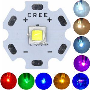 CREE XML2 LED Diode T6 U2 10W White Flashlight chip RGB UV High Power Emitter