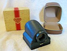 Vtg F&H Rollei Penta Prisma 6x6 View Finder for Rolleiflex Camera~w/ Case & Box