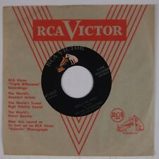 HANK SNOW: Would You Mind? / Yellow Roses RCA '55 45 Rainbow Ranch Boys