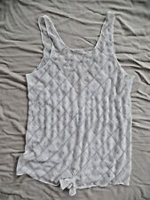 New Free People Sequin Romper Size XS/S Ivory