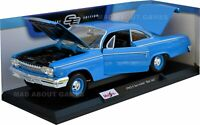 CHEVROLET BEL AIR 1962 1:18 Scale NEW Diecast Model Toy Miniature Car Vintage