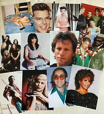 LOT of 100 Assorted Color and B&W Musical Artists 8X10 Photos