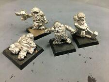 4 oop Metal warhammer dwarves