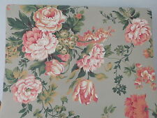 Vintage Wallpaper Rolls York Carey Lind Design Flowers
