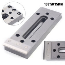Stainless Jig Tool Wire Edm Fixture Board For Leveling & Clamping 150*50*15mm Us